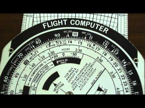 E6B Flight Computer: Mach Number to KTS
