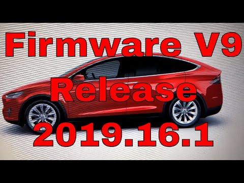 Firmware V9 Release 2019.16.1   Display Updates!