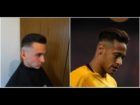 NEYMAR JR. CURRENT HAIRCUT & HAIRSTYLE FOR SEASON 2017 SLICK BACK HAIR | Cum sa te tunzi ca Neymar