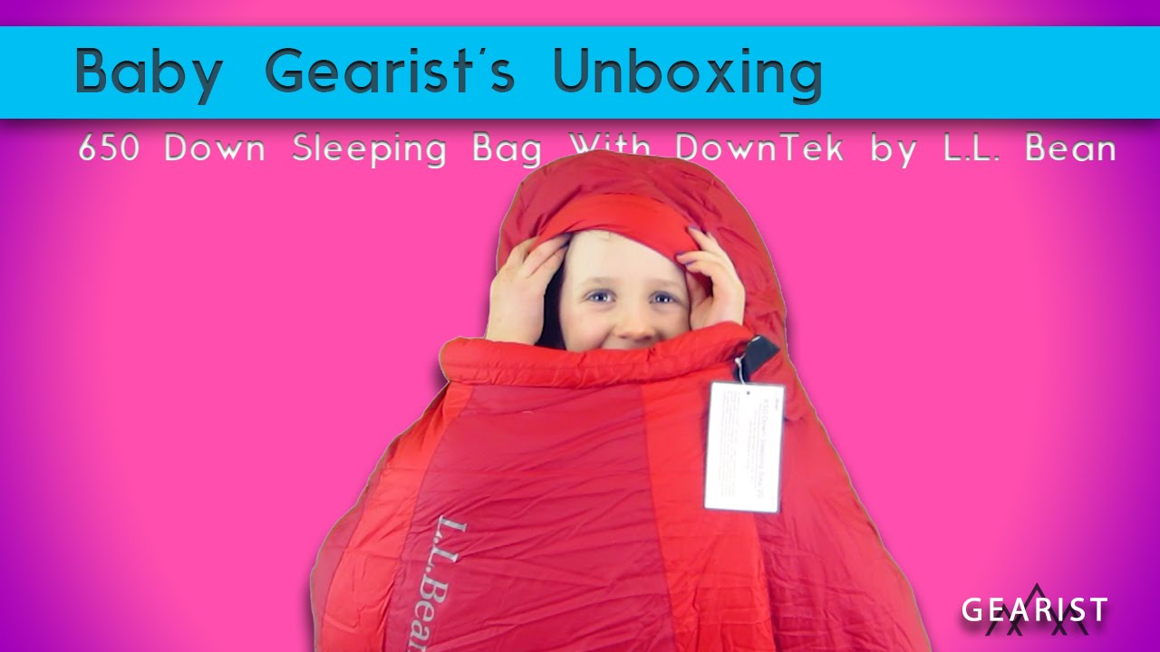 Unboxing The 650 Down Sleeping Bag With Downtek From L L