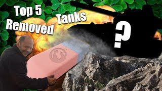 WoT || Top 5 || Removed Tanks