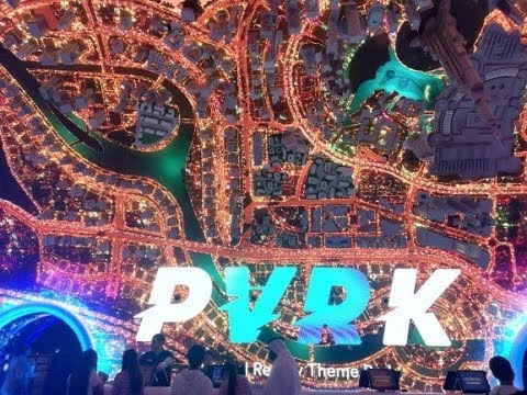 VR PARK DUBAI MALL - Virtual Reality Experience I Analou Pas