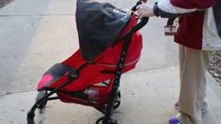 Chicco Liteway   Folding Demonstration(How to fold the Chicco Liteway stroller. This stroller is great for tall folks, my 6'0 husband loves it. It is really easy to fold as well...as this video demonstrates., 2014-04-28T18:12:26.000Z)