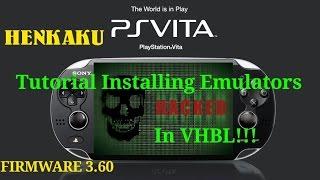 PS Vita 3.60! HENKAKU - How To Install Emulators in VHBL!