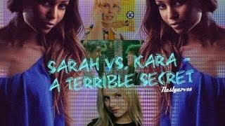 Заставка к фанфику Sarah vs Kara - a terrible secret
