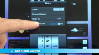 iHome iA100 Clock Radio with iHome+Sleep App Demo | Crutchfield Video