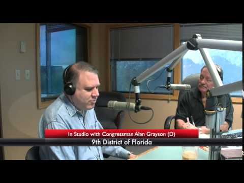 Political Talk Show with Guest Congressman Alan Grayson (D) - Florida Round Table
