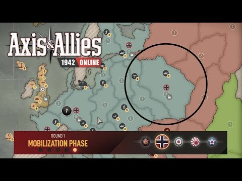 Axis & Allies 1942 Online: (Ranked) Capturing Moscow in Round 1! |