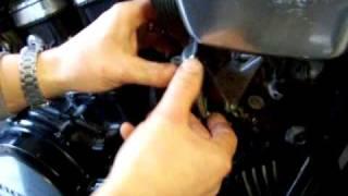 1983 v45 magna carburetor bowl removal
