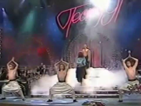 Песня года 1991 год София Ротару   Чайные розы в купе, караван любви промежуточный выпуск