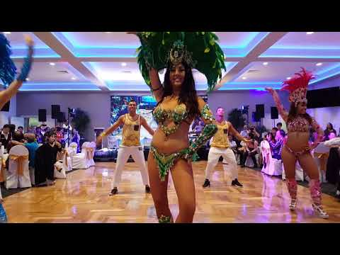 Chinese Lion and Sambasita Brazilian Dancing Saturday 13th Jan 2018