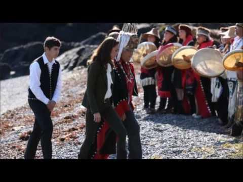 Duke and Duchess of Cambridge go fishing in Canada