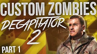 """""""CRAZY CHALLENGE MAP!"""" Custom Zombies - Decapitator 2 - Part 1 (Call Of Duty Zombies)"""