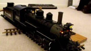 F-scale Rio Grande 2-8-2 K-27 mikado narrow gauge