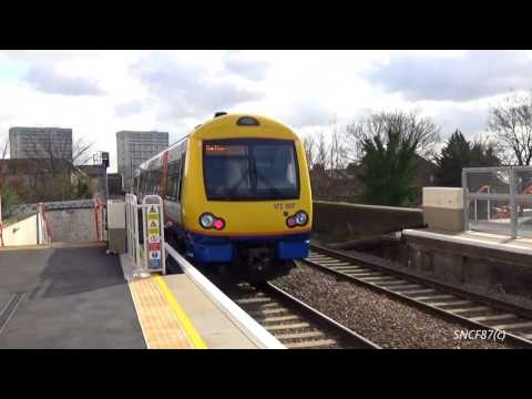 London Overground Class 172 departs at Leytonstone High Road