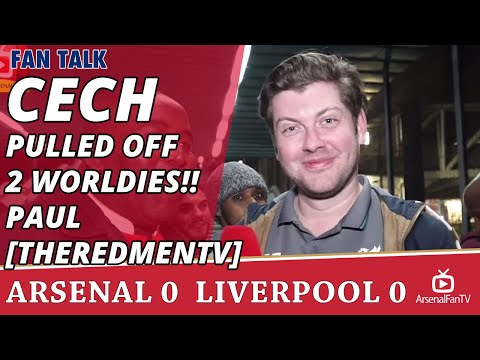 Petr Cech Pulled Off 2 Worldies!! Paul [TheRedmenTV] | Arsenal 0 Liverpool 0