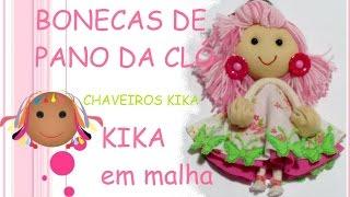 Boneca Kika em malha