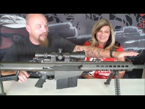 Rebecca's Favorite Rifle - The Barrett M-107