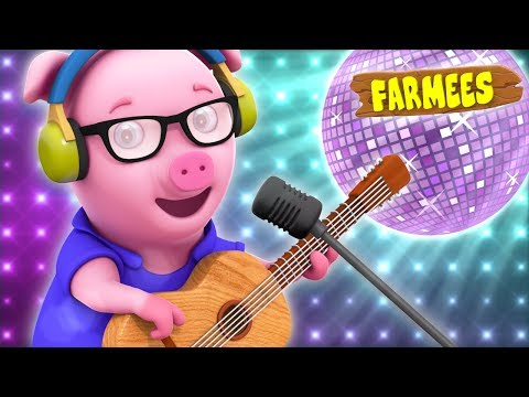 Oink Oink Pig | Original Nursery Rhyme | Children's song | Baby Rhymes | Kid Songs Farmees S02E190