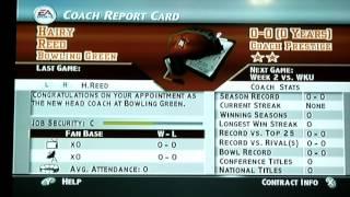 """A New Beginning""   Bowling Green Dynasty   NCAA Football 2004"