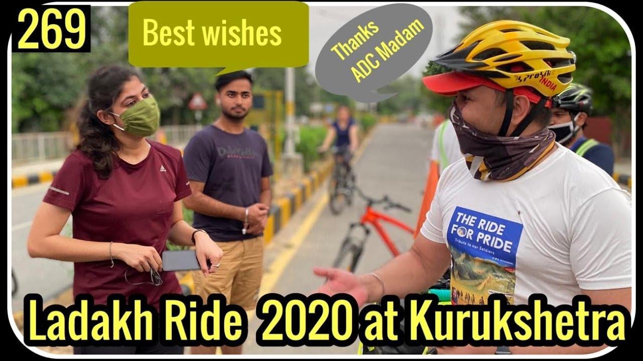 Leh Ladakh Ride 2020,  Second Day In Kurukshetra , Cycle Baba Ep. 269
