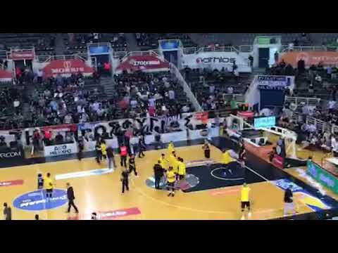 Ένταση στο «PAOK Sports Arena