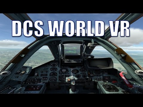 DCS World VR For HDK2 OSVR Game Play Virtual Reality