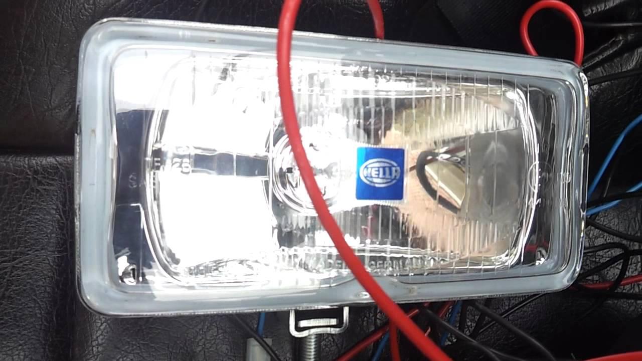 Hella Fog Lights Wiring Diagram 550 Online Manuual Of Harness Driving Youtube Rh Com Jeep Light