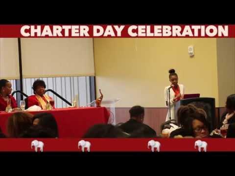 Delta Gamma Charter Day celebration
