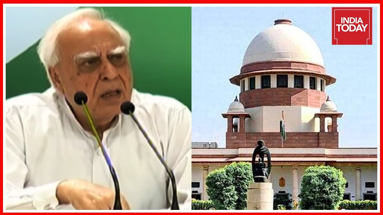 Congress' Kapil Sibal Questions Supreme Court Order On Impeachment Plea