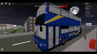 UK Buses Simulator 2 Oakdon To Hawkton bus station Roblox