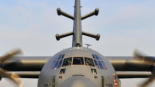PSYOPS! RARE GLIMPSE inside an EC-130J Commando Solo as it conducts a SECRET TRAINING MISSION!