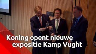 Koning Willem-Alexander opende het nieuwe herinneringscentrum van Kamp Vught
