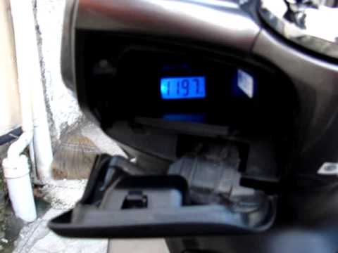 Battery VOLTMETER on Honda PCX - YouTube