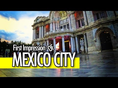 First Impression of Mexico City!! Life in Mexico Episode 2 / Mexico Travel Vlog #10