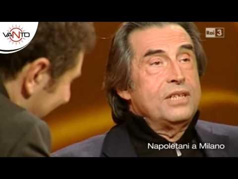 RICCARDO MUTI divertentissimo  Bariello     Napoletani a Milano