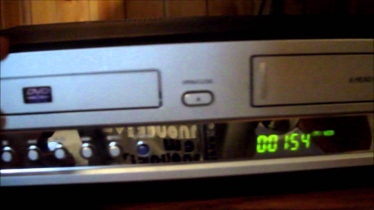 Инструкция к видеомагнитофону самсунг vcr dvd 2e