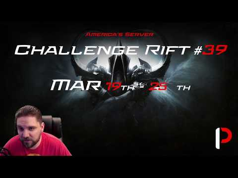 Diablo 3 - Challenge Rift #39 - Video Guide - Mar 19th - 25th - With Map.
