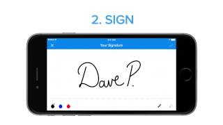 SignEasy – The Simplest Way to Sign and Send Documents from your iPhone