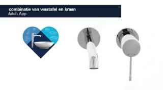 Grohe Essence New 2-gats wastafelkraan