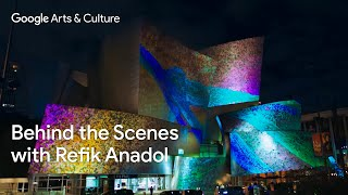 How an artist used AI to make WDCH Dreams by Refik Anadol   Behind the Scenes