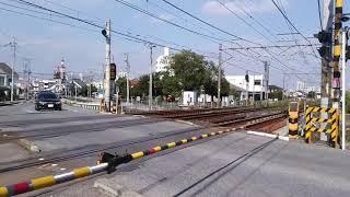【宇都宮線】栃木県道一号線 E233踏切通過