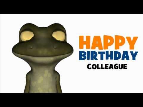 Happy Birthday Colleague Youtube