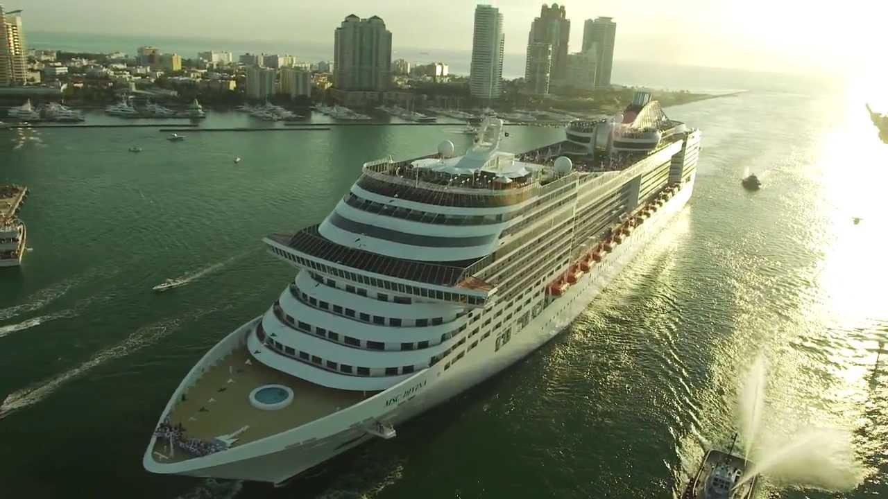 MSC Cruises' MSC Divina's Miami arrival - CruiseGuy.com - YouTube