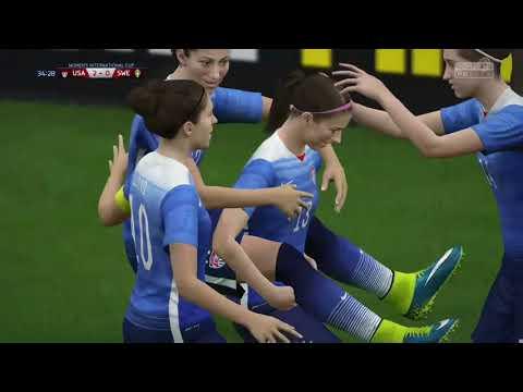 FIFA 16 Women's international World CUP | Semi Finals