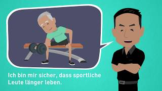 "Learning German with Dialogues / Lesson 52 / Subordinate clauses with ""that"" / Healthy Nutrition"