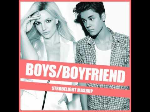 Britney Spears Vs. Justin Bieber - Boys/Boyfriend (Strobelight Mashup)