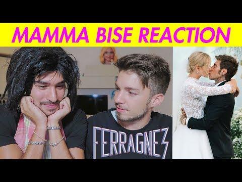 MAMMA BISE REACTION al MATRIMONIO di FEDEZ E CHIARA FERRAGNI | Matt & Bise