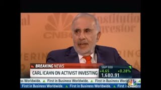 Delivering Alpha Conference Carl Icahn Interview Part 1
