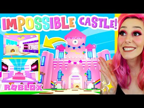 Most Insane Adopt Me Castle You Wont Believe Exists Youtube
